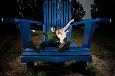 I've always wanted to get a shot of one of my tall friends in this huge chair in the Uptown area of Minneapolis. So when we passed by this early one morning in wine country (looking for a sunrise, but we'd woken to grey skies), I really couldn't resi