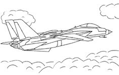 Jet Coloring Sheets