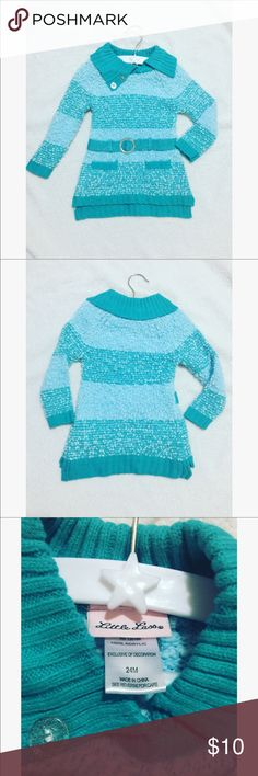 Toddler Sweater/Skirt • 24 months • Brand New Never Worn  • Aqua Color • Offer :) Little Lass One Pieces