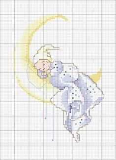 Schema punto croce Sogno