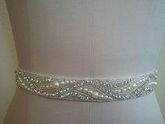 Wedding Belt Bridal Belt Sash Belt by LucyBridalBoutique