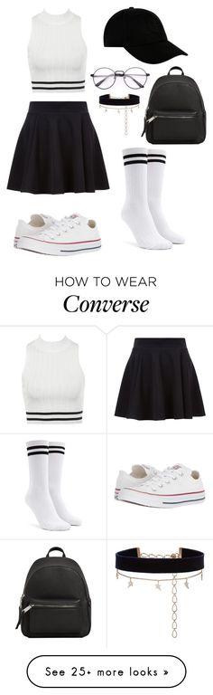 """SPORTY ELEGANT OUTFIT"" by greta1101 on Polyvore featuring Forever 21, STONE ISLAND, Converse, MANGO and Diane Kordas"