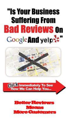 Dealing with bad reviews? No seek more for help.  Let us help you.