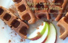 waffles Apple Cinnamon Grain Free Waffles (Gluten free, processed sugar free): Detox recipe 7 of 21