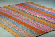 Vintage wool veggie dyed rug @ the shop