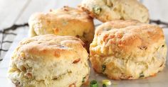 Gluten-Free Bacon and Cheddar Savory Biscuits made with baking mix Recipe | King Arthur Flour
