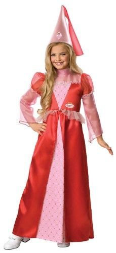 Strawberry Shortcake Princess Child Costume Toddler 2-4T, Toddler Girl's, Pink