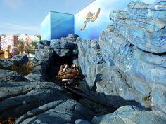 """Crush's Coaster"",  Walt Disney Studios Park, France"