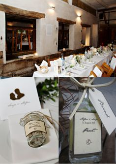 Die Webiste zu dem Bild finde ich super interessant, aber vielleicht hat einer von euch die ja schon durchstöbert. ;) +++Hochzeit, Tischdeko, Gastgeschenke