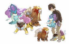 Pokemon Alola, Pokemon Comics, Pokemon Fan Art, Cute Pokemon, Pokemon Stuff, Pokemon Pictures, Magical Creatures, Kawaii Cute, Cute Gay