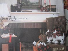 Check out our doll patterns selection for the very best in unique or custom, handmade pieces from our shops. Costume Patterns, Craft Patterns, Cool Patterns, Sewing Patterns, Scottie Dog, Cross Stitch Patterns, Doll Clothes, Quilts, Dolls