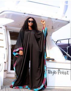 Short African Dresses, African Fashion Dresses, African Inspired Fashion, African Print Fashion, African Wear, African Attire, Kaftan Gown, Women's Runway Fashion, Mode Abaya