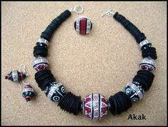 Collier ethinque - les bijoux d'akak