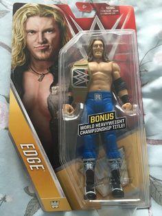 WWE Mattel EDGE + bonus title belt - Wrestling Figure - Brand new-Chase in Toys & Games, Action Figures, Sports | eBay