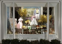I miss store windows that look traditional and beautiful, that also recognize EASTER . . . Yeah!