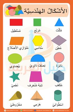 Course: Miscellaneous topics , Section: Geometric Shapes in Arabic Arabic Alphabet Letters, Arabic Alphabet For Kids, Kids Learning Activities, Montessori Activities, Preschool Zoo Theme, Arabic Handwriting, Learn Arabic Online, Alphabet Pictures, Arabic Phrases