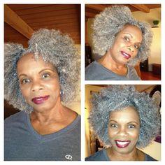 hair fascinators for kinky natural hair - Google Search