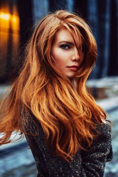 Awesome ginger hair