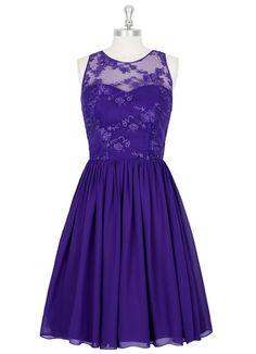 AZAZIE VICTORIA. Victoria is a knee-length bridesmaid dress with an A-line cut…