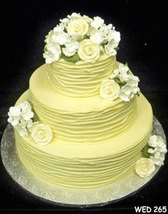 Buttercream Wedding Cakes | Gallery of Wedding Cakes | Serving Virginia, Maryland and Washington DC