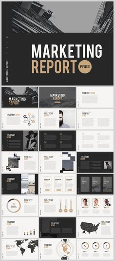 "FREE PowerPoint Template ""Marketing Report"", link: http://site2max.pro/marketing-report-free-powerpoint-template/ #free #powerpoint #ppt #design #infographic #freebies #marketing #presentation"