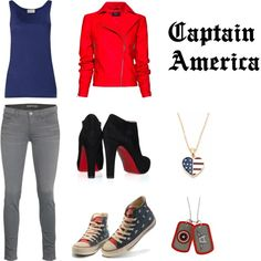 Avengers Fashion - Captain America