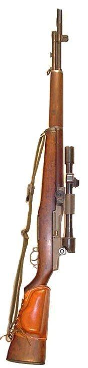 Garand M1D Sniper Rifle