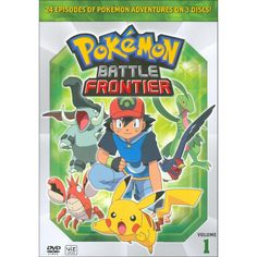 Special Offers Available Click Image Above: Pokemon Battle Frontier Box 1 Dvd From Warner Bros. Pokemon Sketch, O Pokemon, Pokemon Advanced, Pokemon Movies, Nerd, Cute Pokemon Wallpaper, Team Rocket, Marvel Movies, Movie Tv