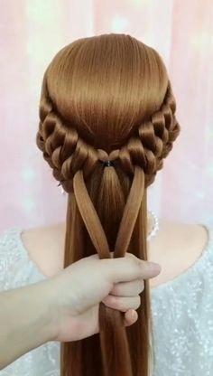 Hairdo For Long Hair, Bun Hairstyles For Long Hair, Step By Step Hairstyles, Evening Hairstyles, African Hairstyles, Prom Hairstyles, Protective Hairstyles, Hair Tutorials For Medium Hair, Hairstyle Tutorials