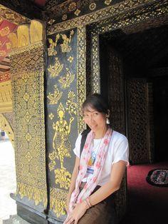 Wat chang thong Laos วัดเชียงทอง