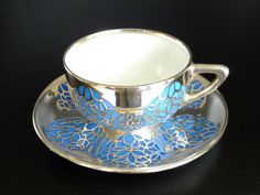 Rosenthal Germany 1929 silver overlay