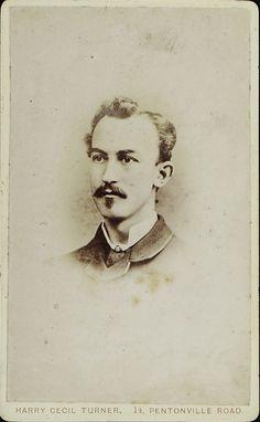www.pastonpaper.com | Carte De Visite of William Joseph Lambon, 1883 Facial Hair, Old Photos, Joseph, Carte De Visite, Old Pictures, Face Hair, Vintage Photos