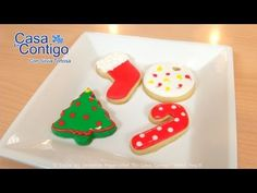 Decorar Galletas con Royal Icing o Glasa Real - YouTube