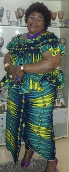 FROM DRC African Fashion Dresses, African Dress, African Wear, Kitenge, Africa Fashion, Ankara Styles, Africa Style, Chiffon, Saree