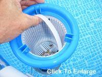 L Ttmonterad Skimmer F R Easy Set Pool Och Garden Pinterest