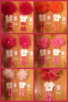 Each guest's doll gets a coordinated set including a spa menu, cucumber slivers, tiara, onesie, sandals, eye mask and tutu. Everything made by me except tutu and menus and cucumber slivers is found online I just printed them and laminated them