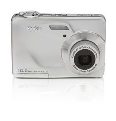 Kodak C180 10 MP HD Digital Camera with 3x Optical Zoom and 2.4 LCD Screen (Silver) by Kodak. $94.95. From the Manufacturer                      Snap picture after picture on the easy-to-use and affordable Kodak EasyShare C180 Digital Camera. Chronicle your life with great pictures and videos you can easily upload online. The camera even locates faces automatically so you can focus on more important things—getting that smile.      Amazing quality prints with 10.2 MP  10.2 MP f...