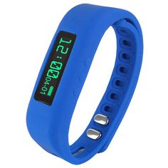 Supersonic Fitness Wristband With Bluetooth Pedometer, Calorie Counter and More-Blue. Supersonic Fitness Wristband With Bluetooth Pedometer, Calorie Counter and More-Blue. Fitness Activity Tracker, Fitness Activities, Fitness Tracker, Fitness Gear, Fitness Wristband, Calorie Counter, The Ordinary, Fun Workouts, Bluetooth