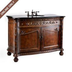 Everington Vanity Sink, 48in. #kirklands #bathroomluxury