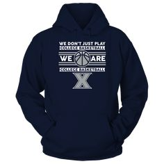 Xavier Musketeers - We Don't Just Play B T-Shirt  Xavier Musketeers - Official Apparel - this licensed gear is the perfect clothing for fans. Makes a fun gift!  AVAILABLE PRODUCTS Gildan Unisex Pullover Hoodie - $44.95   Gildan Unisex Pullover Hoodie District Women Next Level Women District Men Gildan Fleece Crew Gildan Long-Sleeve T-Shirt View sizing / material info BUY IT NOW ... Cowboys Win, Dallas Cowboys, Tied T Shirt, Cowboy Outfits, Digital Printer, Shirt Store, Musketeers, Sports Shirts, Hoodies