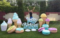 "120 Likes, 10 Comments - Ann Savchuk (@savanna_weddingdecor) on Instagram: ""У нас сладко  #декорнапраздник  #декоризпенопласта  #детскийденьрождения  #сладкаяжизнь…"""
