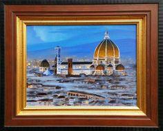 Il Duomo di Firenze Firenze, Artist, Painting, Artists, Painting Art, Paintings, Painted Canvas, Drawings