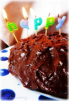 Quirky Cooking: Gooey Chocolate Icing (dairy free, sugar free, vegan)