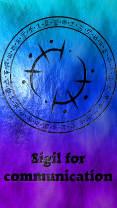 Sigil for communication Requested by @happilyteenageprince