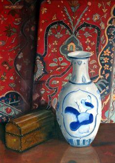 http://images.fineartamerica.com/images-medium/blue-vase-with-oriental-rug-helen-albritton.jpg