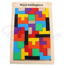 Tetris Pentominoes Solid Wood Jigsaw Intelligence Wooden Game Toy Gift photo ideas from Amazing Toys Collection Teaser, Best Educational Toys, Logic Puzzles, Puzzle Toys, Play, Free Items, Cool Toys, Solid Wood, Games