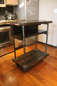 Hey, I found this really awesome Etsy listing at https://www.etsy.com/listing/205356075/kitschy-kitchen-cart
