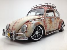 This is Rusty, a 1965 VW Beetle. He is my favorite car I've ever owned and the mascot for a community.... FolksWerks :-) check us out on FaceBook.