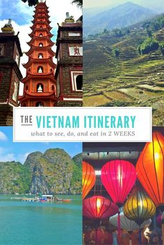 A 2 Week Vietnam Itinerary: A Complete First-Timer's Guide AWESOME VIETNAM ITINERARY! // 2 weeks in Vietnam! Heading to Vietnam soon? This pin will be a lifesaver! I used the exact itinerary to plan my trip an. Laos, Vietnam Travel Guide, Asia Travel, Phuket, Vietnam Vacation, Trip To Vietnam, Places To Travel, Places To Visit, Vietnam Holidays