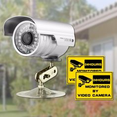 Security CCTV Camera 1/3'' CMOS 1200TVL 36 IR LED Color Night Vision Surveillance Camera Home Outdoor Waterproof Video Camera